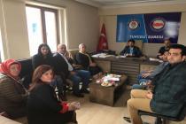 AK PARTİ KADIN KOLLARININ SENDİKAMIZA ZİYARETLERİ